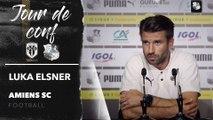 Conférence de presse d'avant Match, Luka Elsner ( SCO - ASC )