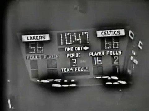 NBA 1963 Finals Game 6 - Los Angeles Lakers vs Boston Celtics  2of2