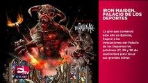 Todo el metal de Iron Maiden en el Palacio de los Deportes