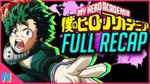 My Hero Academia: EVERYTHING You Need To Know Before Season 4! (Seasons 1 - 3 Recap)