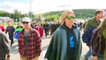 Marche pour le climat: plus de 200 personnes à Gaspé