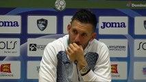 Après HAC - Châteauroux (0-1), réaction de Mathieu Gorgelin