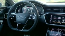 The new Audi RS 7 Sportback in Glacier white Infotainment System