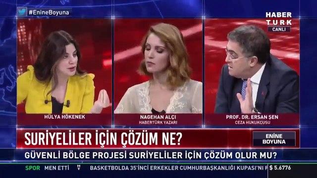 Prof. Ersan Şen ile Nagehan Alçı canlı yayında tartıştı; moderatör 'Acil olarak bir reklam' diyerek yayını kesti