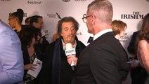 Al Pacino on Seeing Himself De-aged in 'The Irishman'