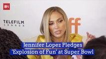 Jennifer Lopez Makes Her Super Bowl Statement