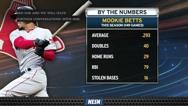 Mookie Betts Putting Up Numbers Ahead Of Free Agency