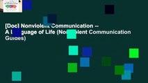 [Doc] Nonviolent Communication -- A Language of Life (Nonviolent Communication Guides)