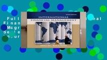 Full version  International Financial Management (Mcgraw-hill/Irwin Series in Finance, Insurance,
