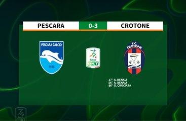 HIGHLIGHTS #PescaraCrotone 0-3 #SerieBKT