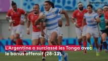 Argentine - Tonga : le match en stats
