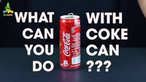 5 AWESOME RECYCLING IDEAS FROM COCA COLA CANS