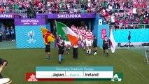 HIGHLIGHTS: JAPAN VS IRELAND
