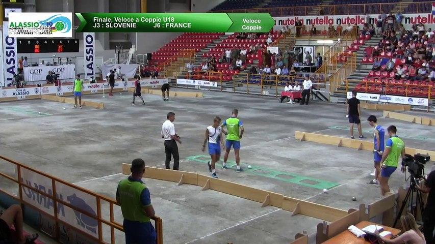 Finale, tir rapide en double U18, Mondial Jeunes U18 et U23, Alassio 2019
