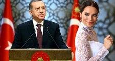 Cumhurbaşkanı Erdoğan'dan iki gün önce evlenen Ebru Şallı'ya tebrik mesajı