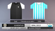 Match Preview: Juventus vs SPAL 2013 on 28/09/2019