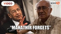 Syed Husin: It's not just the Malays who forget, Mahathir forgets too