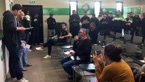 Les Green Angels 92 et les Indépendantistes stéphanois 98 ont fait irruption au centre d'entraînement