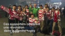 Coupe du monde de rugby : les supporteurs japonais ravis