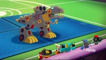 Transformers Rescue Bots Academy Episode 35 Tyrannosaurus Wrecked