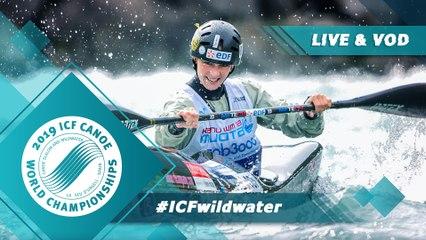 2019 ICF Wildwater Canoeing World Championships La Seu d'Urgell Spain / Wildwater Finals
