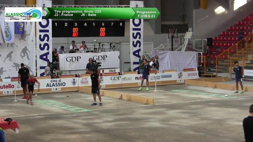 Finale du tir progressif U23, Mondial Jeunes U18 et U23, Alassio 2019