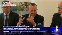 """""""Les productions végétales non récoltées ne devront pas l'être."""" Le préfet de Seine-Maritime acte un """"gel des productions et récoltes"""" suite à l'incendie à Rouen"""