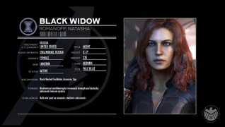 Profilo personaggio: Black Widow