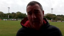 Banbury United boss Mike Ford's post-match reaction.