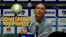Conférence de presse Havre AC - Châteauroux (0-1) : Paul LE GUEN (HAC) - Nicolas USAI (LBC) - 2019/2020