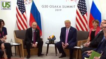 Trump fearfully only gave the most embarrassing action to the whole world