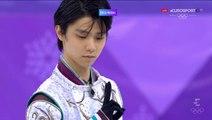 WOG18 - Yuzuru Hanyu FS, during ice resurfacing Ladies FS (ESP ITA)