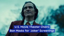 No 'Joker' Masks At The Theaters