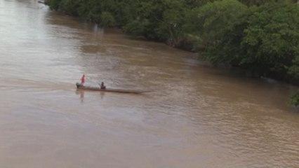 El río Arauca, paso olvidado de la frontera común entre Colombia y Venezuela