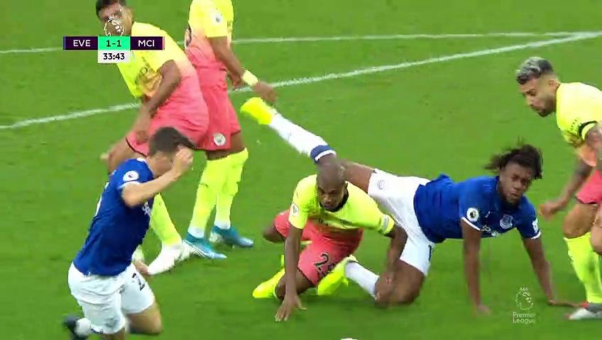 7. Hafta / Everton - Manchester City: 1-3 (Özet)