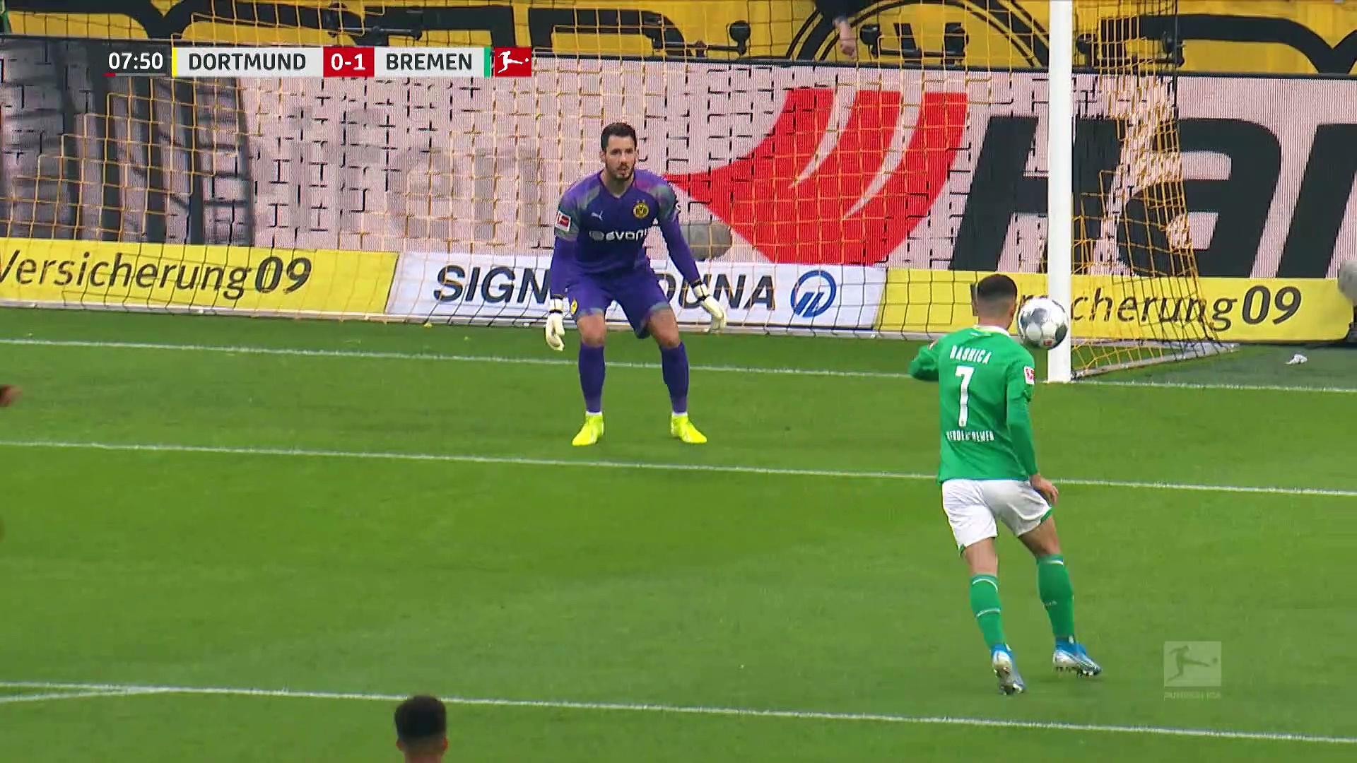 6. Hafta Borussia Dortmund - Werder Bremen: 2-2 (Özet)