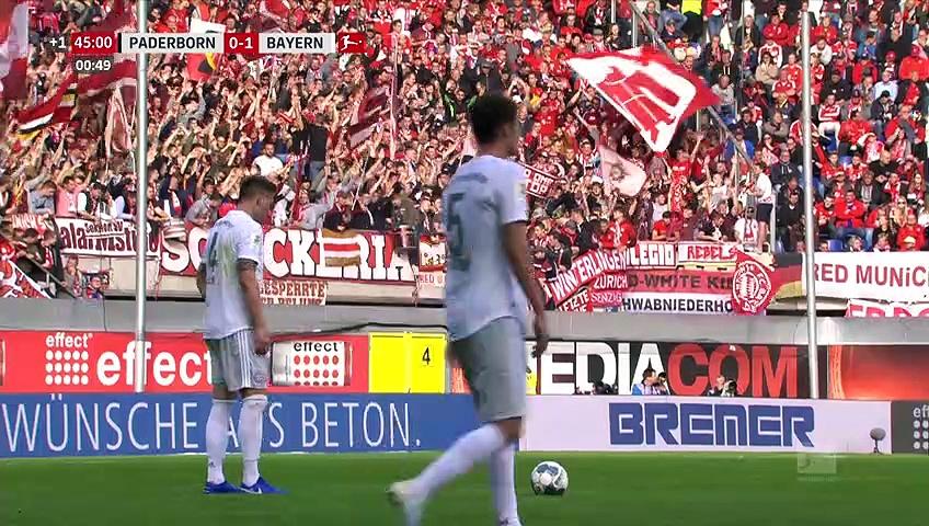 6. Hafta Paderborn - Bayern Münih :2-3 (Özet)