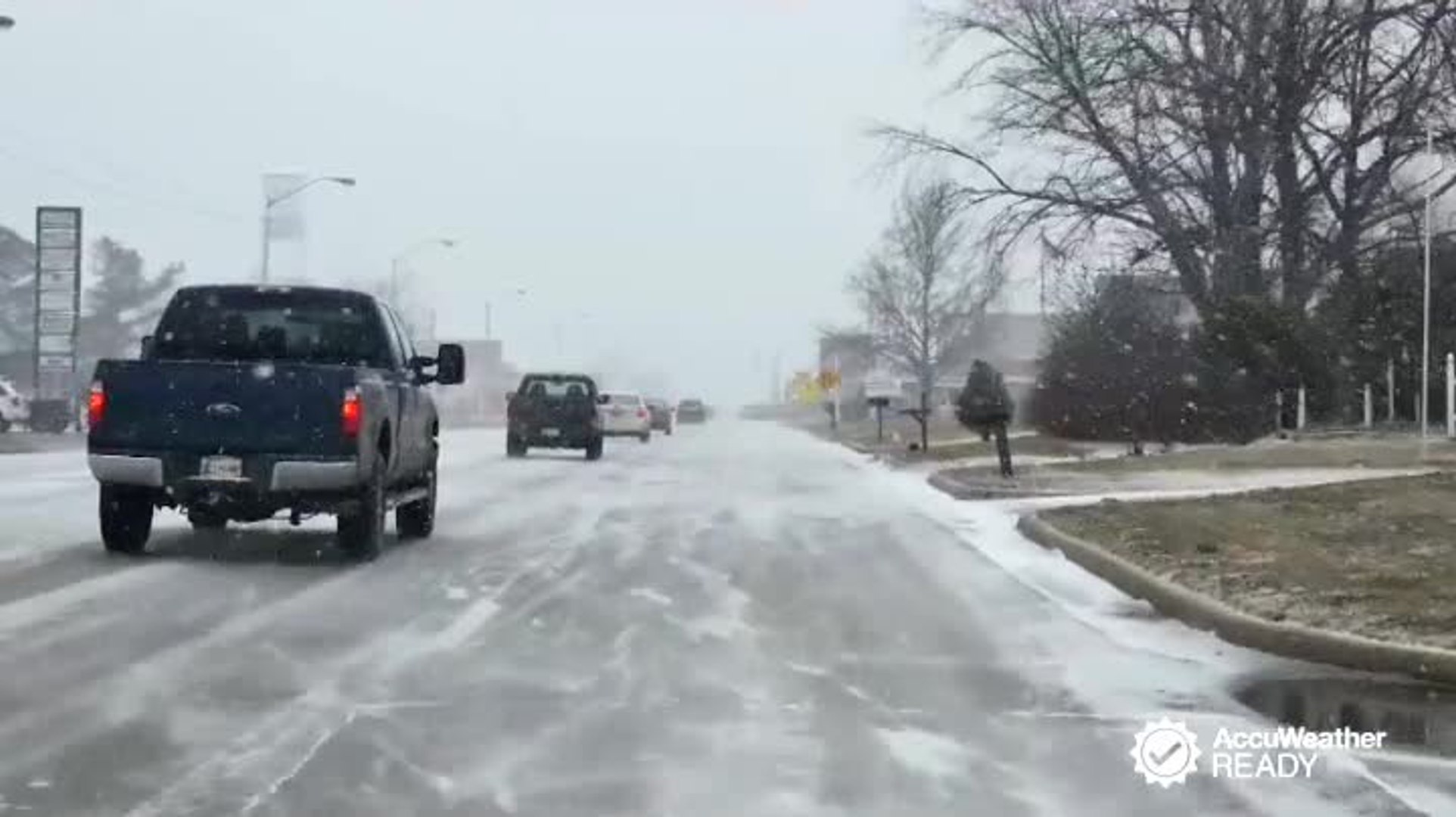 How to drive safely in freezing rain