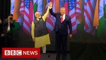 Trump praises Modi at 'historic' Texas rally [SlimV]