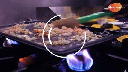 Arbrearecette.com :  Wok d'épinards crevettes