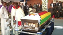 Mugabe finally laid to rest in rural Zimbabwe village
