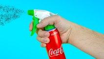 18 AMAZING TRICKS AND IDEAS WITH ALUMINUM CANS Coca cola - 18 INCREÍBLES TRUCOS E IDEAS CON LATAS DE ALUMINIO.