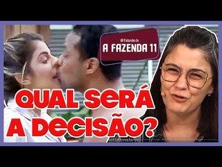 A FAZENDA 11: Mion diz que decisão sobre possível expulsão de Phellipe será anunciada no Domingo