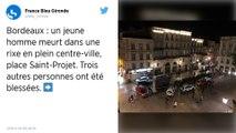 Bagarre au couteau impliquant des marginaux à Bordeaux: un mort et trois blessés