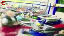 Küçükçekmece'de bıçaklı market soygunu