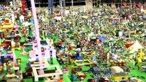 15.000 Lego-Fans bauen Modellstadt in Helsinki