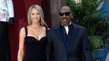 "Paige Butcher and Eddie Murphy ""Dolemite Is My Name"" Premiere Orange Carpet"