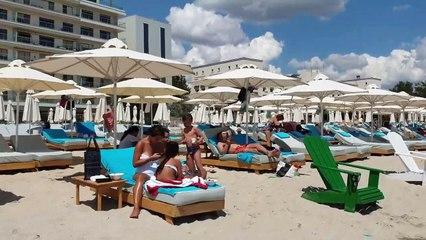 Boa Beach Club 4k Romania Constanta Mamaia Beach July 19, 2019