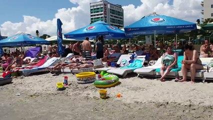 Caelia Beach Part 2 4k Romania Constanta Mamaia Beach July 19, 2019