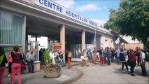 Lons-le-Saunier: manifestation en soutien aux urgences de l'hôpital